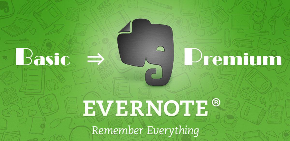 忘れっぽい人と片付けが出来ない人は必見!?Evernoteベーシックユーザーがプレミアムアカウントのメリットを考えてみた。